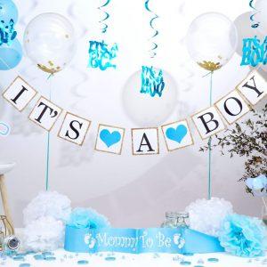 Geboorte Jongen versiering