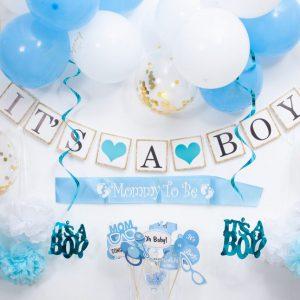 Babyshower Jongen Versiering