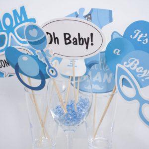 Babyshower foto props