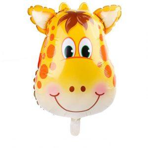 Jungle Folie Ballon Giraf