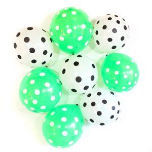 Groen Wit ballonnen