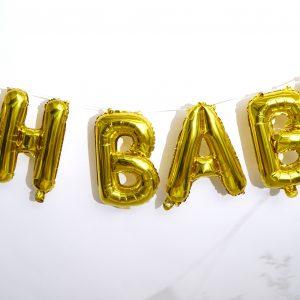 Oh Baby Gouden Ballonnen