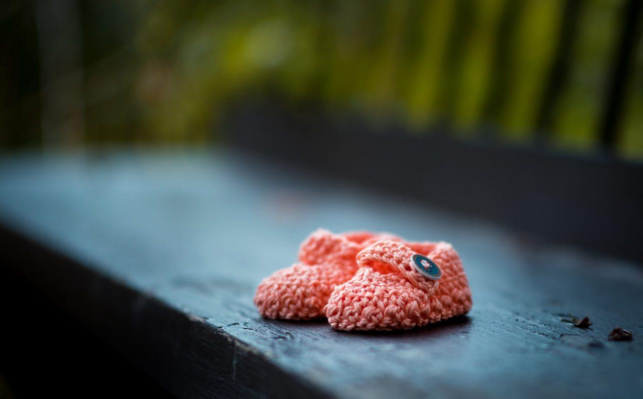 Baby Schoentjes Kraamtijd