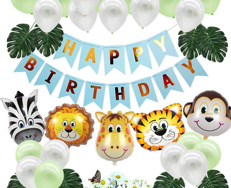 Jungle Verjaardag Decoratie