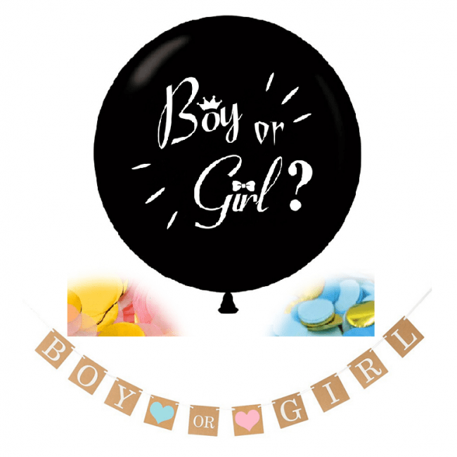 Gender Reveal Pakket