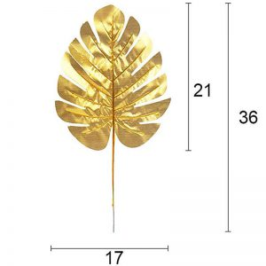 Gouden jungle blad