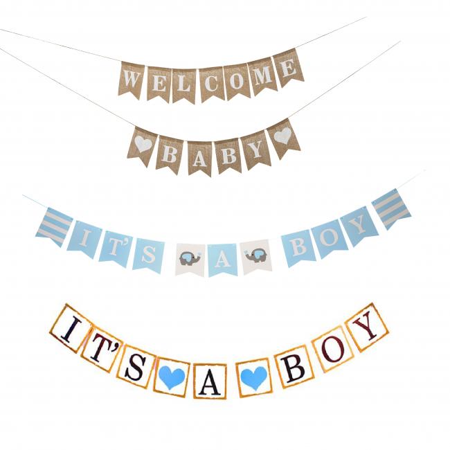 Geboorte Slinger Blauw