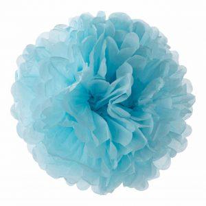 Blauw Pompom