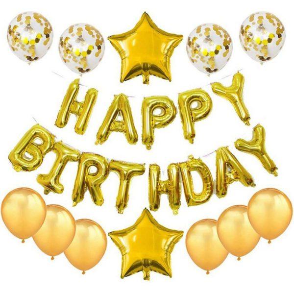 Verjaardag Versiering Geel