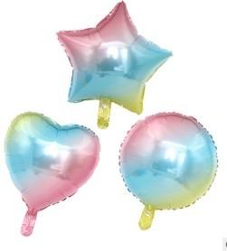Verjaardag regenboog ballonnen
