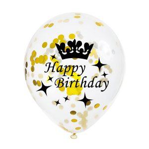 Verjaardag Confetti Ballonnen