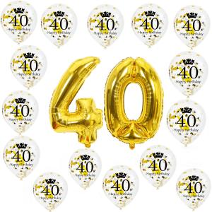 40 jaar verjaardag ballonnen