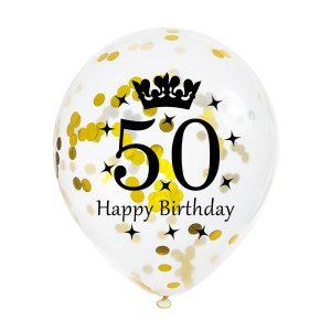 50 jaar ballonnen