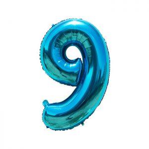 Helium ballon 9 jaar