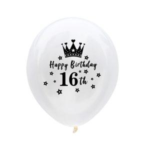 Ballon 16 verjaardag