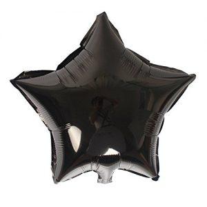 Zwarte ster ballon