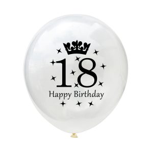 18 jaar ballonnen verjaardag