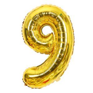 Cijfer 9 ballon