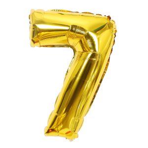 Cijfer 7 ballon