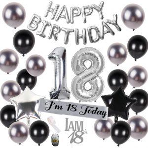 18 jaar versiering verjaardag