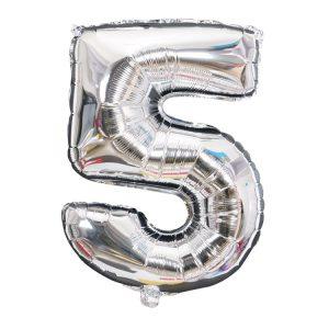 Helium ballon 5 jaar