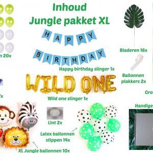 Jungle versiering xl