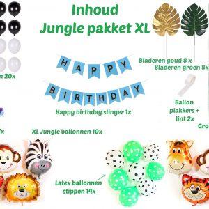 Jungle verjaardag feest