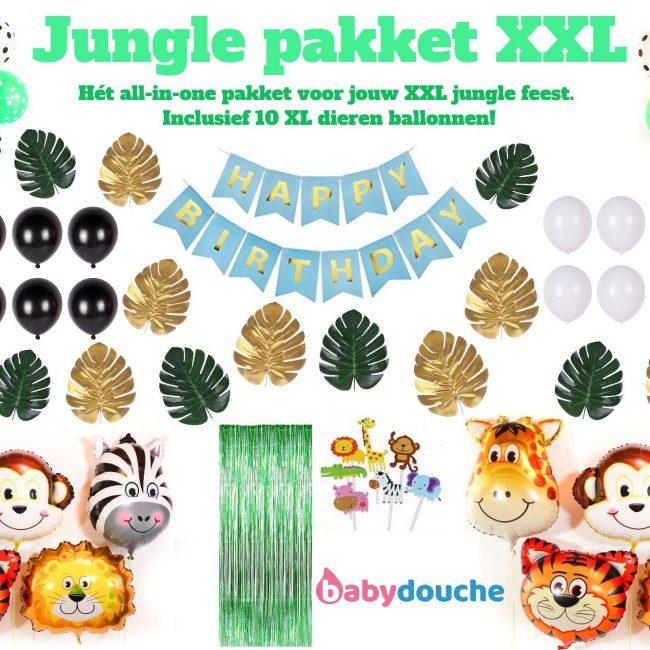 Jungle verjaardag XL