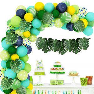 Ballonnenboog jungle versiering